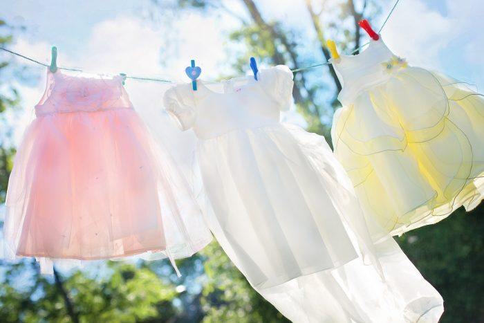 Never neglect the important household chores of ironing and laundry